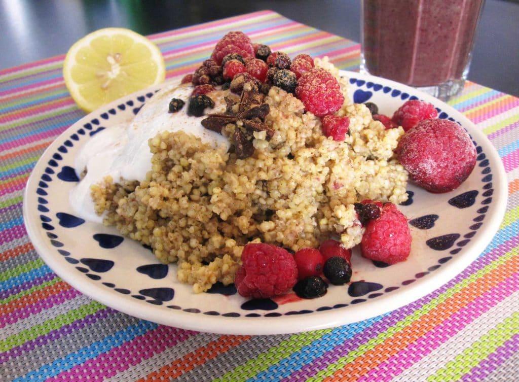 Hirse-Frühstück