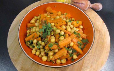 Kirchererbsen-Salat