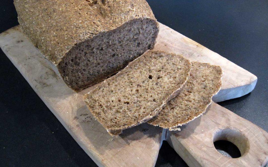 Glutenfreies Quinoa-Buchweizen-Brot