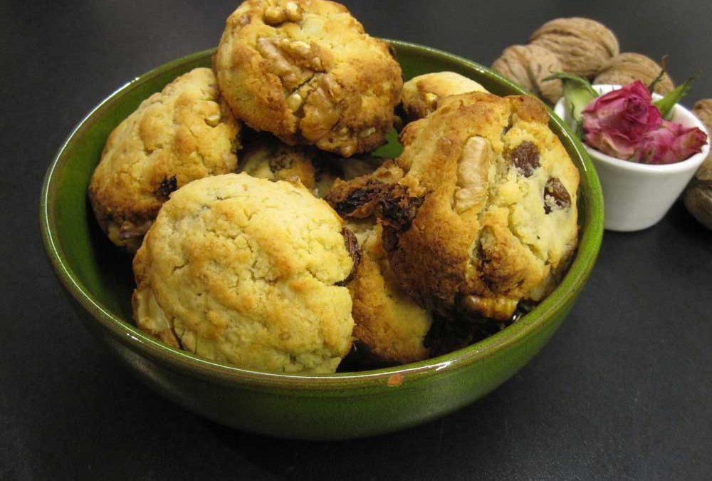 Mandel-Walnuss-Kekse