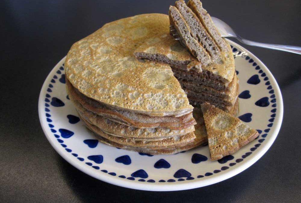 Pfannkuchen – zuckerfrei, glutenfrei und mit Kochbananen