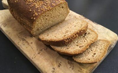 Brot ohne Mehl mit nur einer Zutat