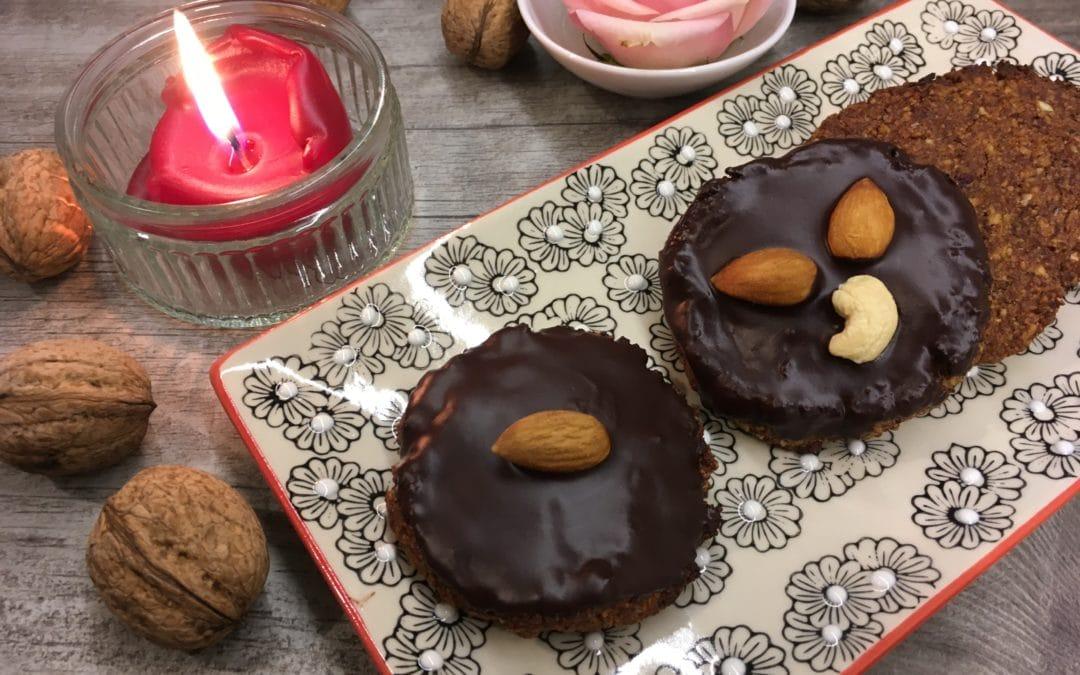 Lebkuchen zuckerfrei & glutenfrei