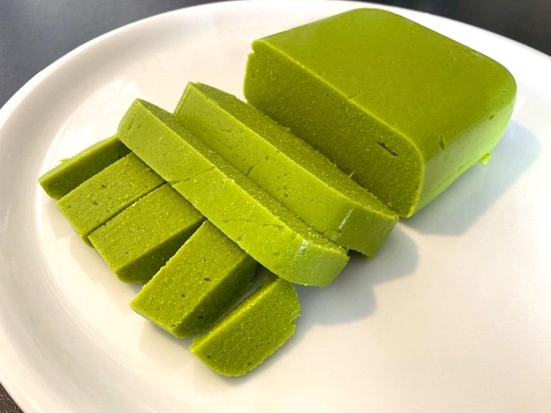Burmesischer Shan-Tofu aus Kichererbsen – ohne Soja